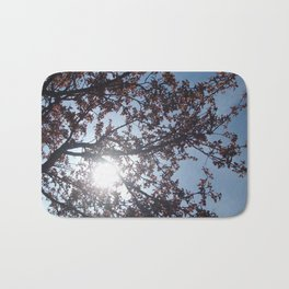 Sun Between Branches Bath Mat