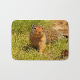 Twitchy Nosed Columbian Ground Squirrel Bath Mat