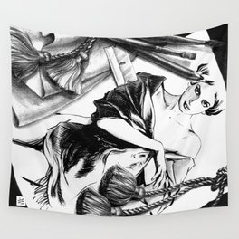 Between Dream & Reality Wall Tapestry