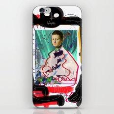 Bronzino and Signorino Street Art Graffiti iPhone Skin