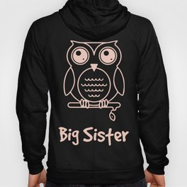 Big Sister Multiple Colors Available Kids Owl Big Sister Big Sister Tee Big Sister Gift Great Gift f Hoody