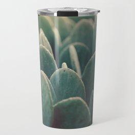 Green + Gold Travel Mug