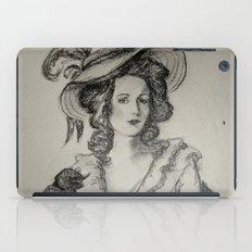 French Sketch IV iPad Case
