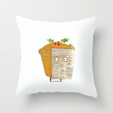 Mince Spy! Throw Pillow