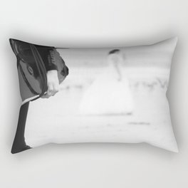 catch a wave and love Rectangular Pillow