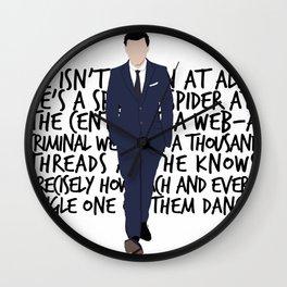 James Moriarty Wall Clock