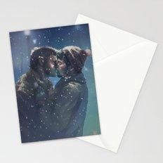 Winter Destiel Stationery Cards
