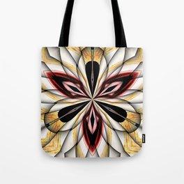 Digital Clover Tote Bag