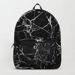 Black Marble with White Veining Backpack