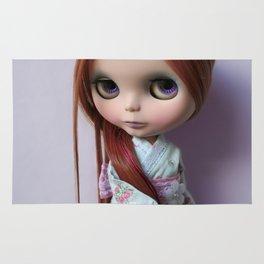 Erregiro Blythe Custom Doll Oriental Lavander Rug