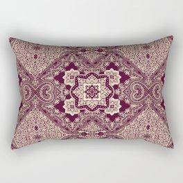 ornamental paisley with diamond Rectangular Pillow