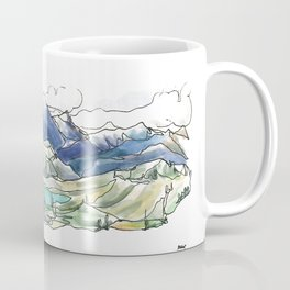 Lord of the Squirrels :: Whistler Coffee Mug