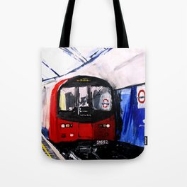 London Underground Northern Line Fine Art Tote Bag
