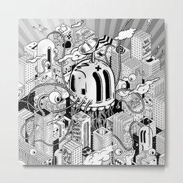System Overload Metal Print