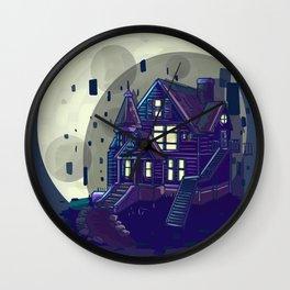 the pink palace Wall Clock