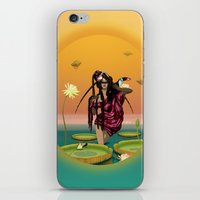 guardians iPhone & iPod Skins featuring GUARDIANS #1 by ANVIK