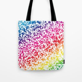 Rainbow Dots Tote Bag