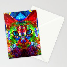 Sir Parker the Chromatic Cat Stationery Cards