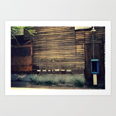 Pay Phone II Art Print