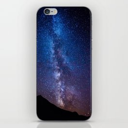 Milky Way - Switzerland iPhone Skin