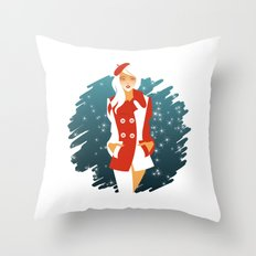 Peacoat Throw Pillow