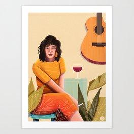 Bossa Nova Art Print