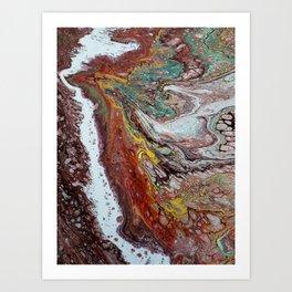 Naissance, acrylic on canvas Art Print