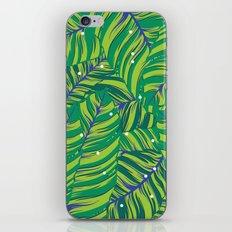 Green tropic iPhone & iPod Skin