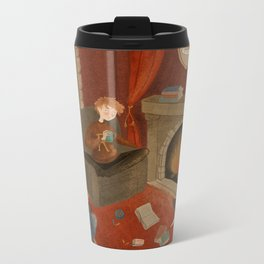Gryffindor Metal Travel Mug