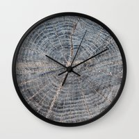 wood Wall Clocks featuring wood by Artemio Studio