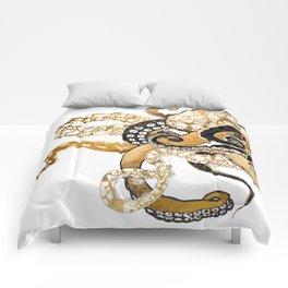 Metallic Octopus Comforters