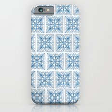 Blue Tile Patterns Slim Case iPhone 6s