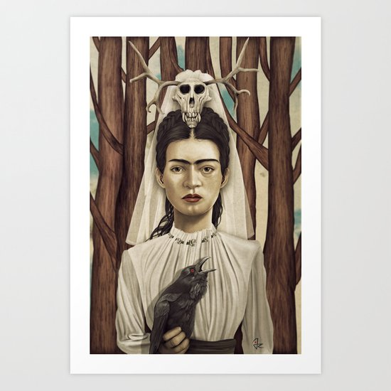 FRIDArk Art Print