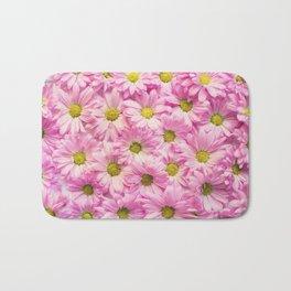pink daisies #society6 #decor #buyart Bath Mat