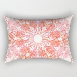 Hyper Brights Mandala Rectangular Pillow