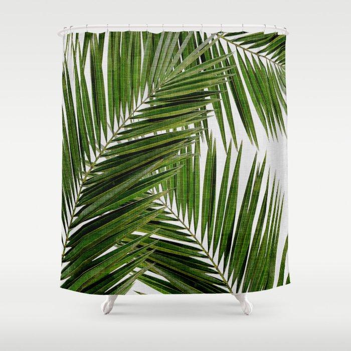 Palm Leaf III Shower Curtain