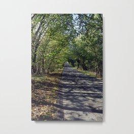 Shadow Road Metal Print