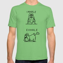 Inhale Exhale Shih Tzu T-shirt