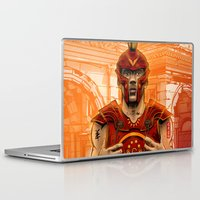 gladiator Laptop & iPad Skins featuring German Gladiator Podolski by Akyanyme