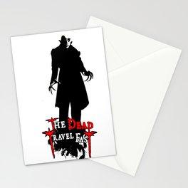 Nosferatu Travel Fast  Stationery Cards