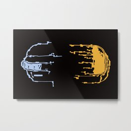 Daft Memories Metal Print