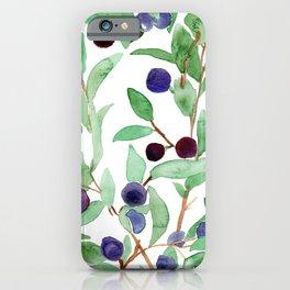 huckleberries iPhone Case