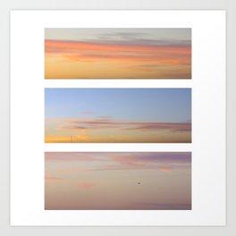 Sky set Art Print