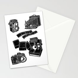 Weapons Of Mass creation - Photography (block print) Stationery Cards