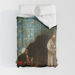 Jean-Leon Gerome - Talk At The Furnace Side - Digital Remastered Edition Comforters