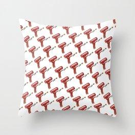 Raygun: 004 Throw Pillow