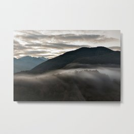 Sunrise in the Abruzzo National Park, Italy Metal Print