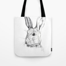 Cheeky Hare Tote Bag