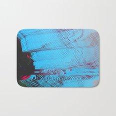 MEMORY MOSH - Glitch Art Print Bath Mat