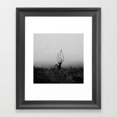 STAREDOWN 2 Framed Art Print